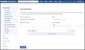 Facebook Comments Html